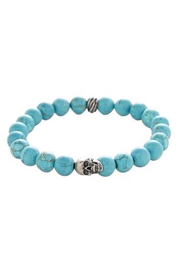 Men's Degs & Sal Stone Bead Stretch Bracelet