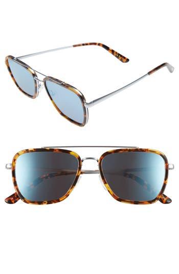 Unique Retro Vintage Style Sunglasses & Eyeglasses Mens Toms Irwin 55Mm Sunglasses - Whiskey Tort $169.00 AT vintagedancer.com
