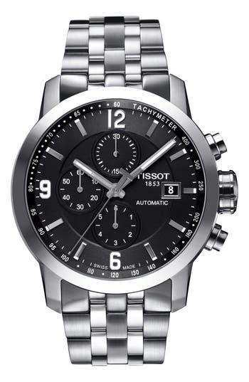 Men's Tissot Prc200 Automatic Chronograph Bracelet Watch, 43Mm