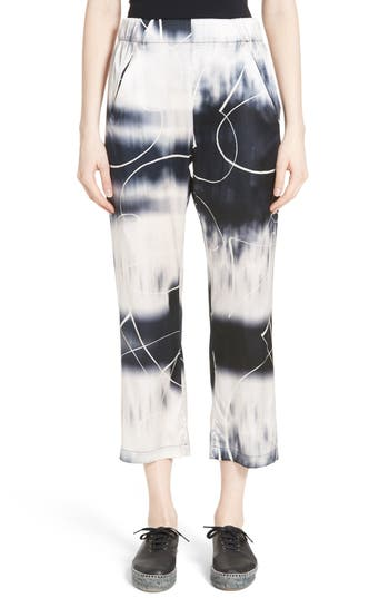Women's Zero + Maria Cornejo Eko Elliott X-Ray Stretch Silk Pants