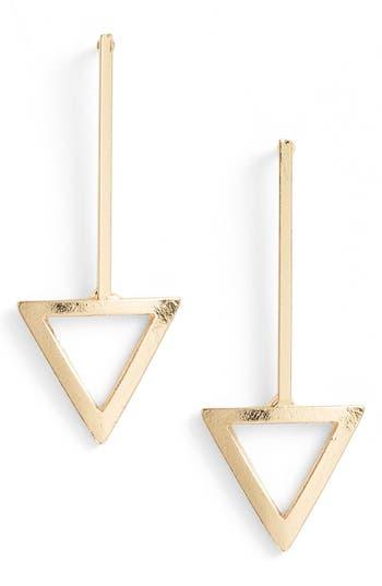 Women's Ettika Triangle Drop Earrings