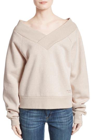 Women's Burberry Falacho V-Neck Sweatshirt