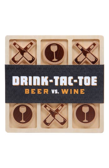 \Drink Tac Toe Beer Vs. Wine Game