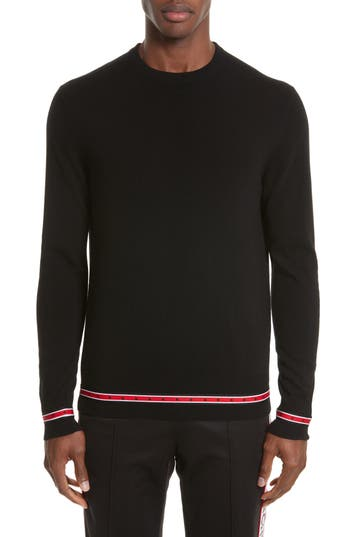 Men's Givenchy Iconic Canvas Trim Sweater