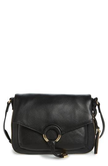Vince Camuto Adina Leather Crossbody Bag - Black
