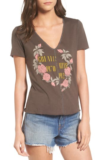 Women's Pst By Project Social T Seamed Graphic Tee