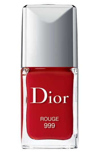 Dior Vernis Gel Shine & Long Wear Nail Lacquer - 999 Rouge 999