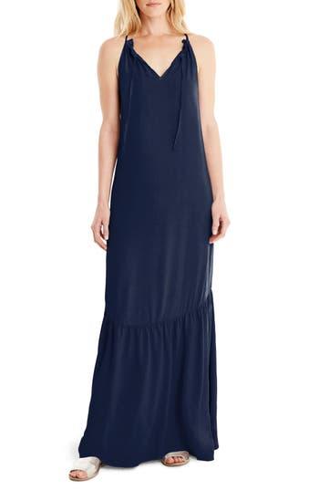 Women's Michael Stars Maxi Slipdress, Size Medium - Blue