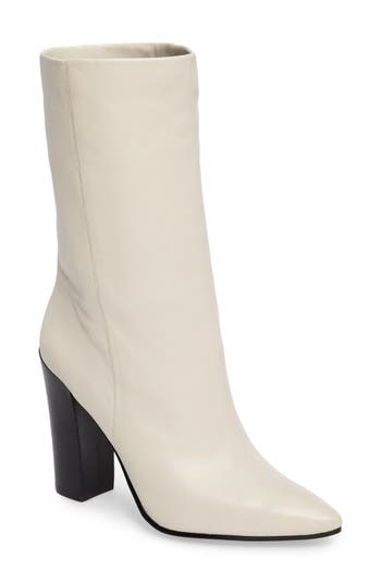 Dolce Vita Ethan Pointy Toe Bootie- White