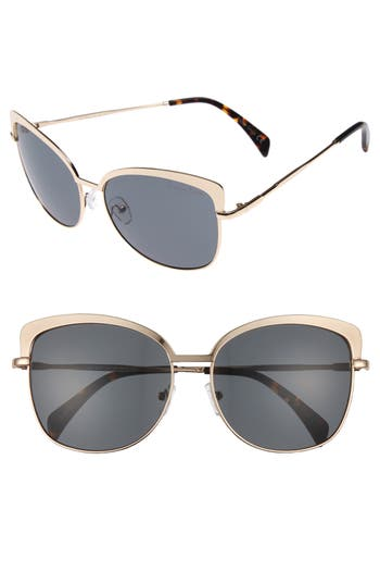Women's Draper James 60Mm Cat Eye Sunglasses -