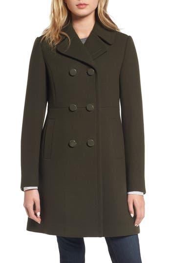 Women's Kate Spade New York Double Breasted Coat