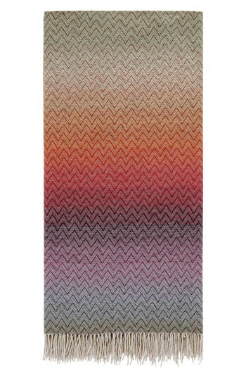 Missoni Pascal Throw Blanket, Size One Size - Red