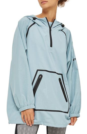 Women's Ivy Park Perforated Pullover Jacket