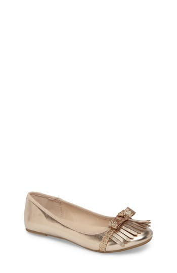 Girl's Kenneth Cole Viva Kiltie Flat