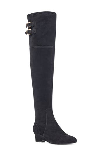 Nine West Jaen Over The Knee Boot, Black