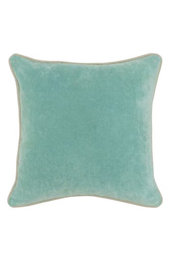 Villa Home Collection Heirloom Velvet Accent Pillow, Size One Size - Blue