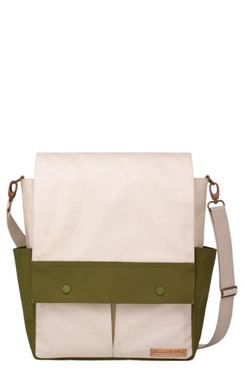 Infant Girl's Petunia Pickle Bottom Pathway Backpack Diaper Tote - Beige