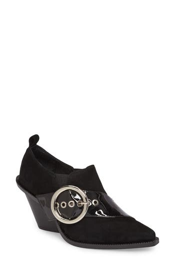 Jeffrey Campbell Yams Bootie- Black