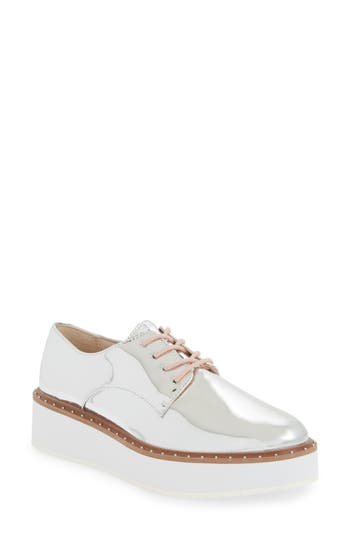 Chinese Laundry Cecilia Platform Oxford- Metallic