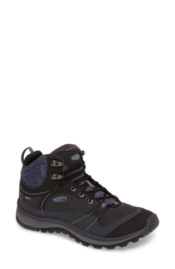 Keen Terradora Pulse Waterproof Hiking Shoe- Black