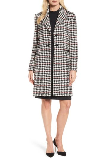 Women's Boss Cunarda Houndstooth Coat