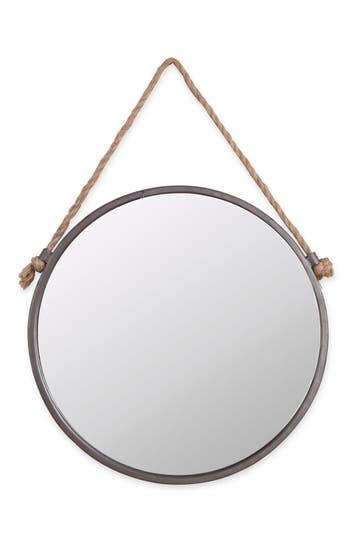Foreside Round Mirror, Size One Size - Metallic