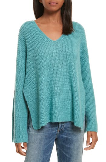 Women's Rebecca Minkoff Remi Oversize Sweater, Size Medium - Blue