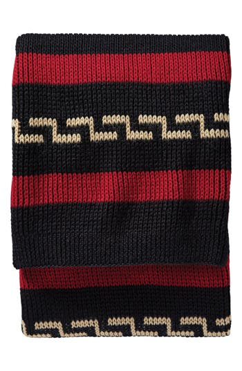 Pendleton Westerley Wool Throw, Size One Size - Black