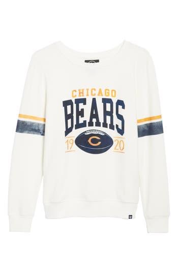 47 Chicago Bears Throwback Sweatshirt, White