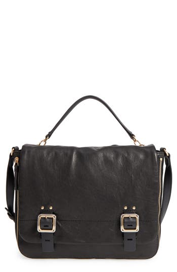 Vince Camuto Delos Leather Messenger Bag -