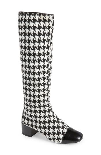 Jeffrey Campbell Covey Knee-High Boot, Black