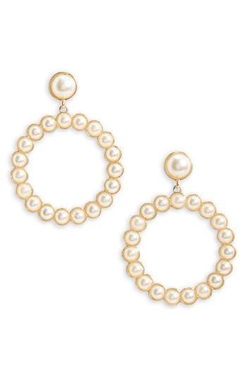 Women's Bp. Imitation Pearl Drop Earrings