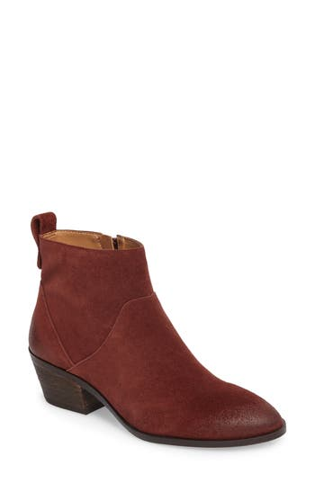 Sole Society Vixen Bootie, Burgundy