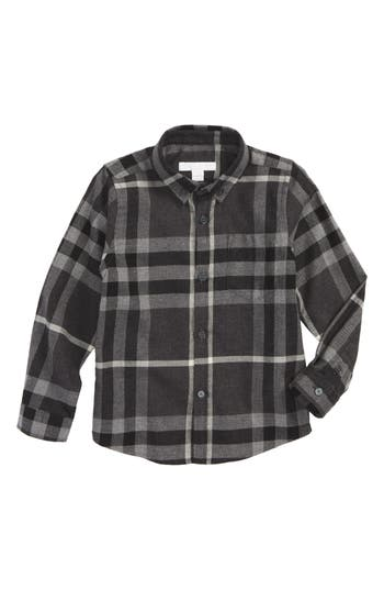 Boy's Burberry Mini Fred Plaid Shirt