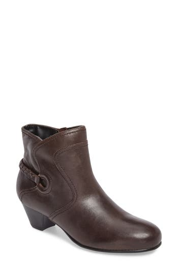 David Tate Chica Ankle Boot, Brown