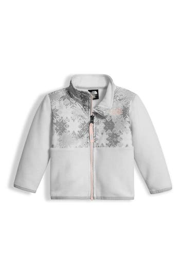 Infant Girl's The North Face 'Denali' Recycled Fleece Jacket
