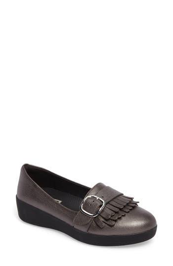Fitflop Sneakerloafer(TM) Flat, Grey