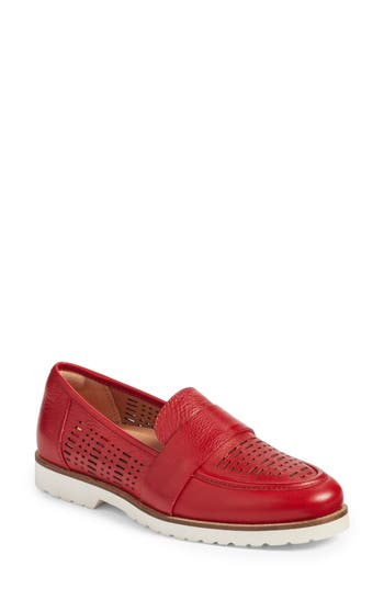 Earth Masio Loafer, Red