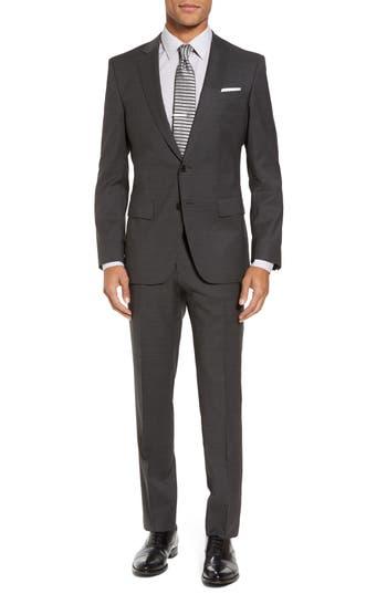 Men's Boss Huge/genius Trim Fit Solid Wool Suit