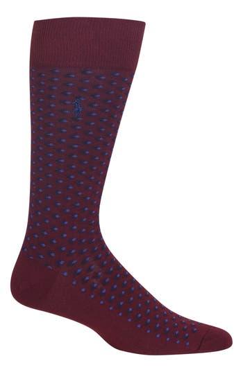 Men's Polo Ralph Lauren Diamond Pattern Socks