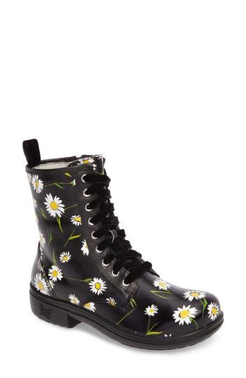 Alegria Ari Combat Boot, Black