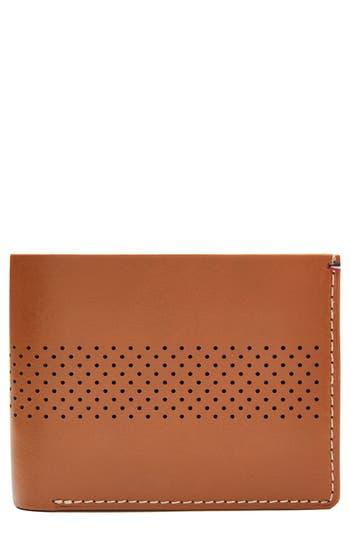 Jack Mason Leather Wallet - Beige