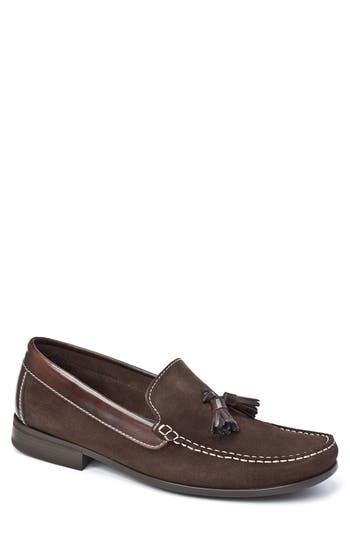 Sandro Moscoloni Hojas Tassel Loafer - Brown