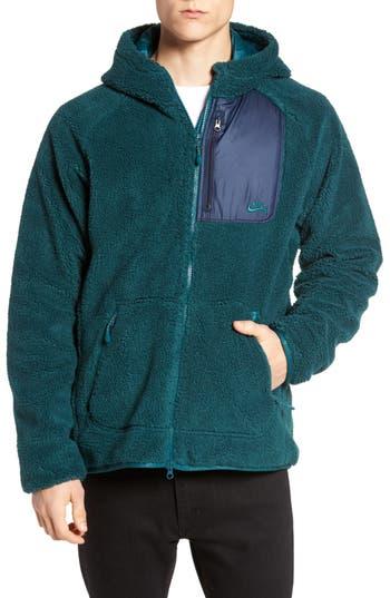 Men's Nike Sb Everett Hoodie, Size Small - Green