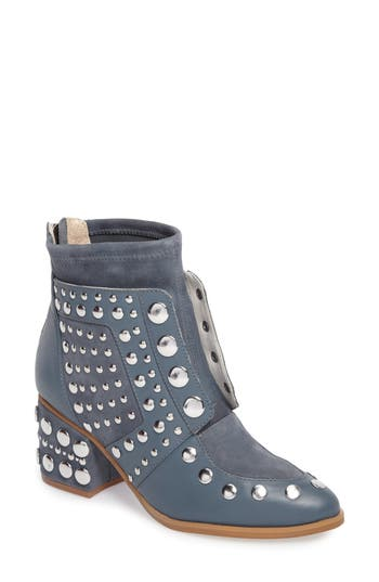 Women's Cecelia New York Michael Studded Boot, Size 6.5 M - Blue