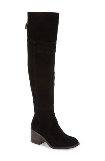 Sole Society Devlin Over The Knee Boot, Black