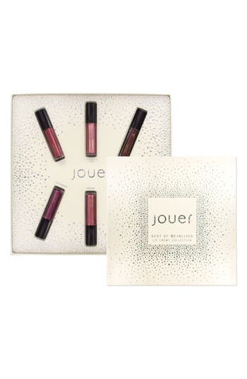 Jouer Best Of Metallics Mini Long-Wear Lip Crème Liquid Lipstick Collection -