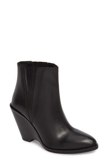 Seychelles Park Demi Wedge Bootie, Black