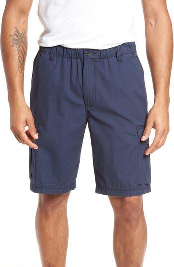 Big & Tall Tommy Bahama Island Survivalist Cargo Shorts, Blue