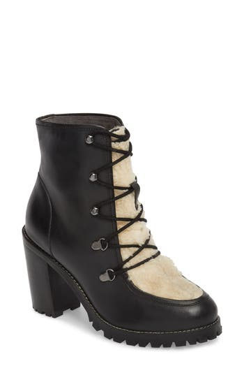 Seychelles Theater Lace-Up Bootie- Black